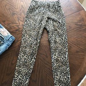 GUESS cheetah leggings